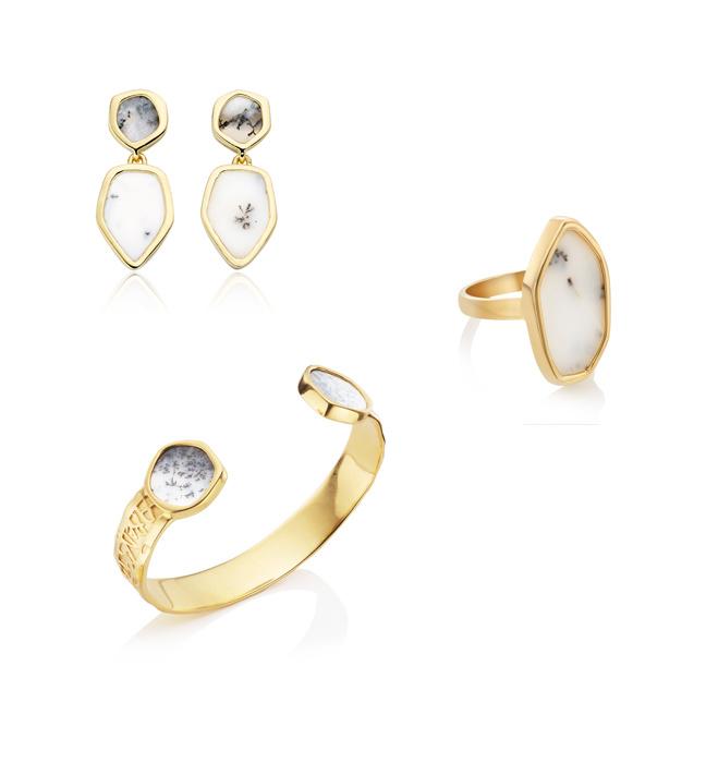 Monica Vinader Atlantis Jewellery Dendritic Agate