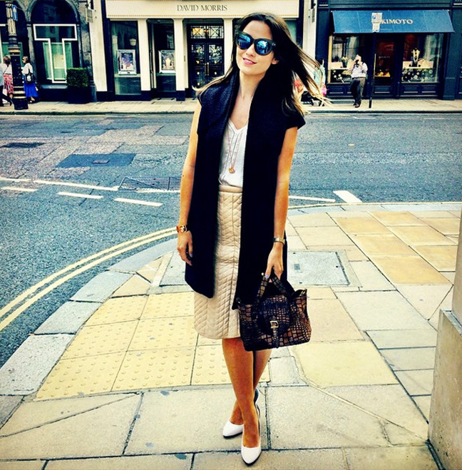 The London Chatter in Monica Vinader