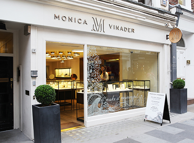 Monica Vinader Mayfair Boutique