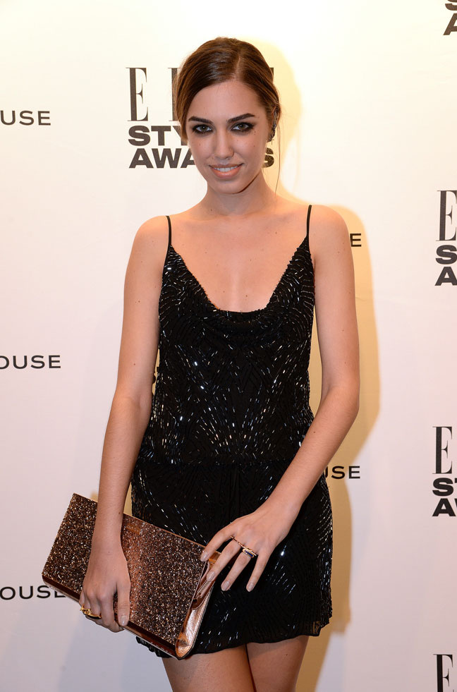 Amber Le Bon at Elle Awards