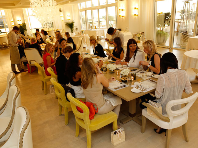 Monica Vinader Quintessentially lunch