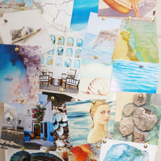 Capri Jewellery Collection Moodboard