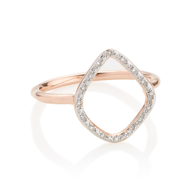 The Iconic Riva Hoop Ring #MVICONS