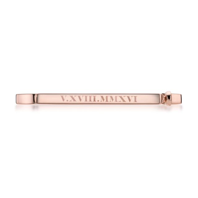 Skinny Signature Bangle with Engraving