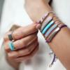 Linear Stone Bracelet - Amazonite - Monica Vinader