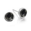 Isla Stud Earrings - Black Spinel - Monica Vinader