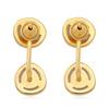 Gold Vermeil Siren Jacket Earrings - Blue Lace Agate - Monica Vinader
