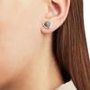 Siren Stud Earrings - Grey Agate - Monica Vinader