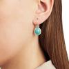 Siren Wire Earrings - Amazonite - Monica Vinader