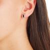 Baja Deco Stud Earrings - Black Onyx - Monica Vinader