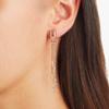Rose Gold Vermeil Baja Deco Thin Cocktail Earrings - Labradorite - Monica Vinader