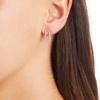 Rose Gold Vermeil Riva Pod Stud Earrings - Diamond - Monica Vinader
