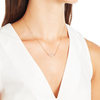 Riva Small Pod Necklace - Diamond - Monica Vinader
