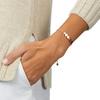 Rose Gold Vermeil Linear Bead Friendship Chain Bracelet - Rose Gold - Monica Vinader