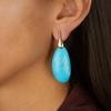 Rose Gold Vermeil Nura Cocktail Earrings - Turquoise - Monica Vinader