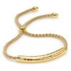 Gold Vermeil Esencia Friendship Bracelet - White Topaz - Monica Vinader