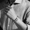 Havana Men's Friendship Bracelet - Black - Monica Vinader