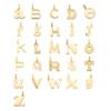 Gold Vermeil Alphabet Pendant T - Monica Vinader