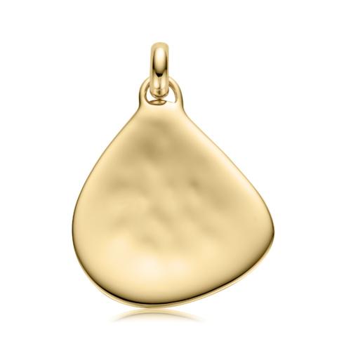 Gold Vermeil Large Siren Pendant - Monica Vinader