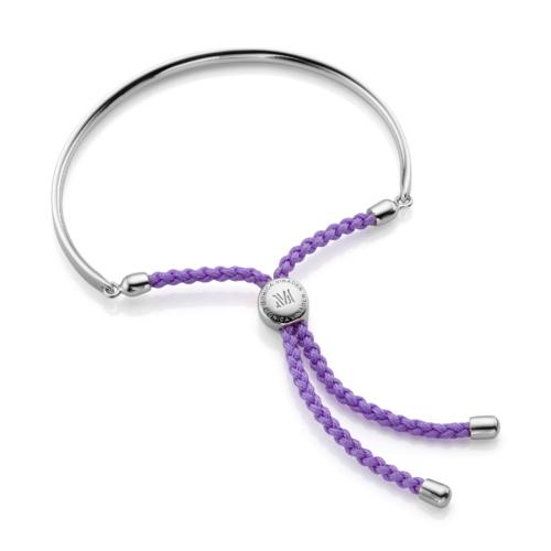 Fiji Friendship Petite Bracelet - Violet - Monica Vinader