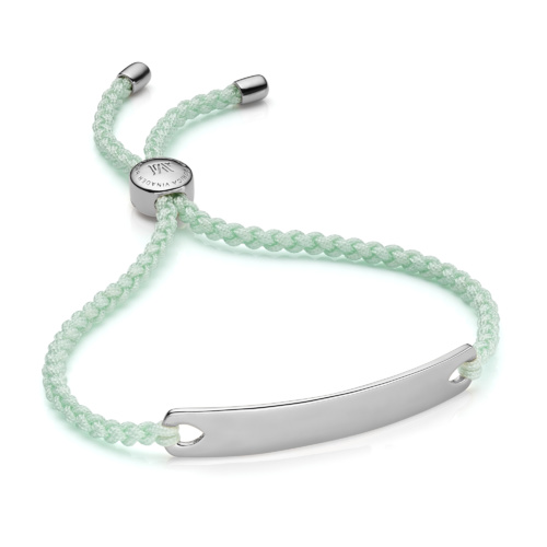 Havana Friendship Bracelet - Mint - Monica Vinader