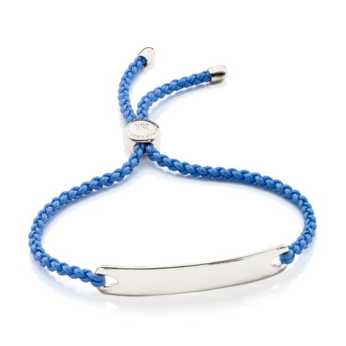 Havana Friendship Bracelet - Powder Blue - Monica Vinader