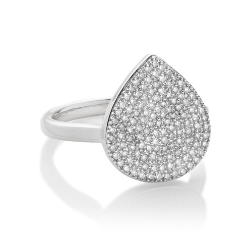 Alma Ring - Diamond - Monica Vinader