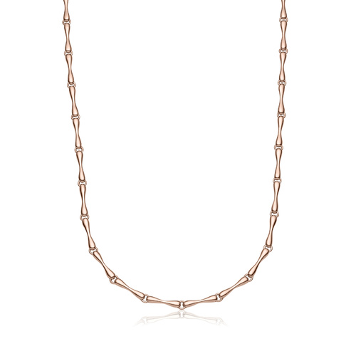 Rose Gold Vermeil Nura Reef Necklace - Monica Vinader