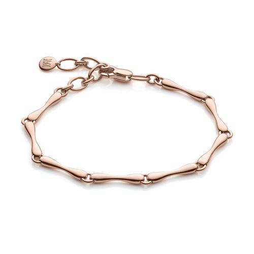 Rose Gold Vermeil Nura Reef Bracelet - Monica Vinader