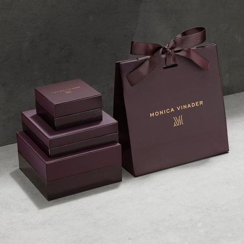 Rose Gold Vermeil Siren Double Nugget Drop Earrings - Amazonite - Monica Vinader