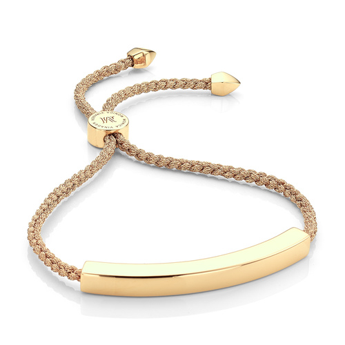 Gold Vermeil Linear Large Friendship Bracelet - Women's - Gold - Monica Vinader