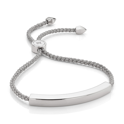 Linear Large Friendship Bracelet - Women's - Silver - Monica Vinader