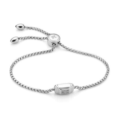 Baja Deco Bracelet - Diamond - Monica Vinader
