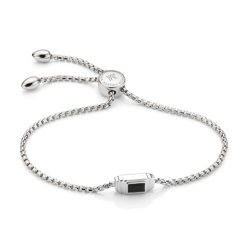 Baja Deco Bracelet - Black Onyx - Monica Vinader
