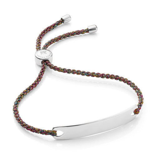 Havana Friendship Bracelet - Rainbow Metallica - Monica Vinader