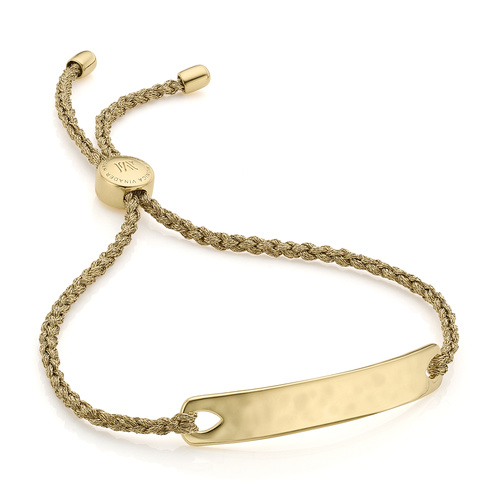 Gold Vermeil Havana Friendship Bracelet - Gold Metallica - Monica Vinader