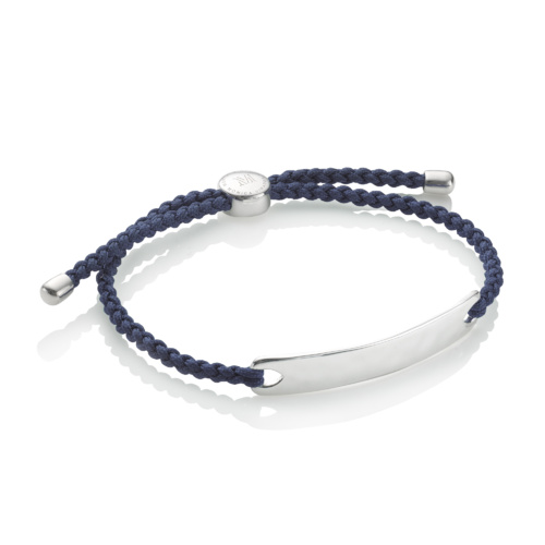 Havana Mens Friendship Bracelet - Denim Blue