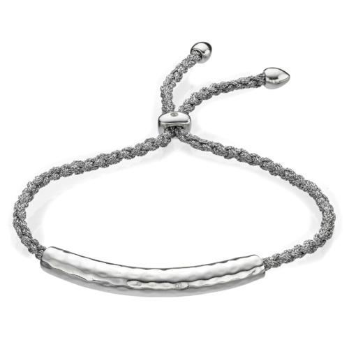 Esencia Friendship Bracelet - White Topaz - Monica Vinader