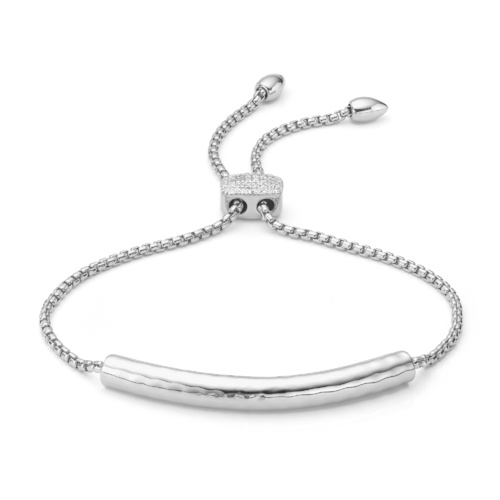Esencia Diamond Toggle Bracelet - Diamond - Monica Vinader