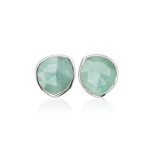 Siren Stud Earring - Aquamarine