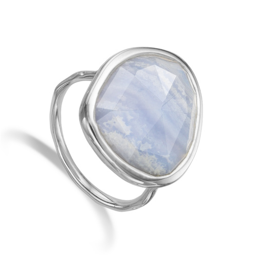 Siren Ring - Blue Lace Agate