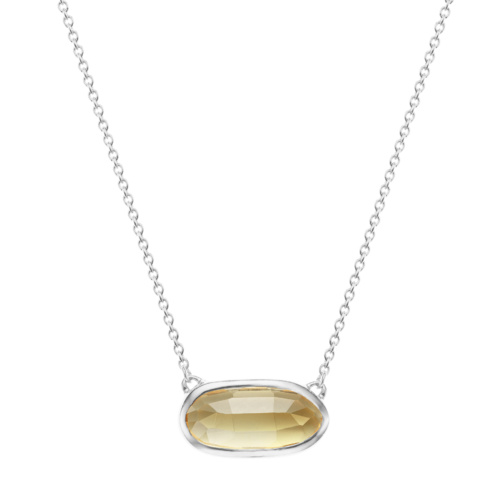 Vega Necklace - Citrine