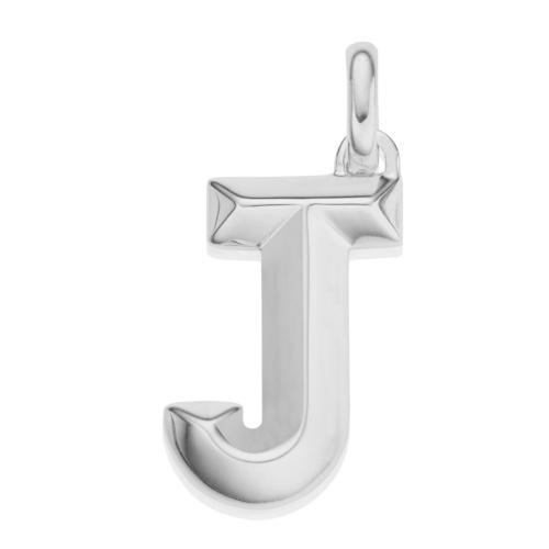Alphabet Pendant J
