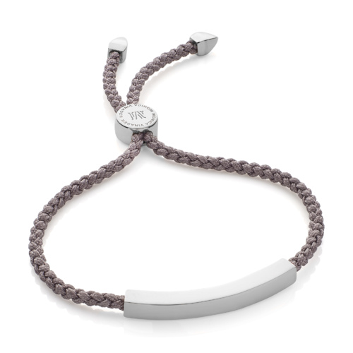 Linear Friendship Bracelet - Mink Cord