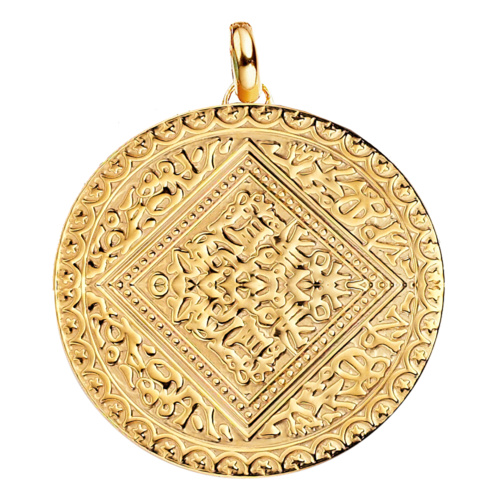 Gold Vermeil Marie Pendant - Monica Vinader