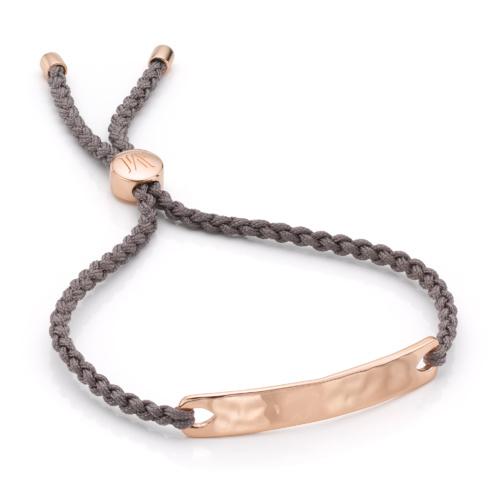 Rose Gold Vermeil Havana Friendship Bracelet - Monica Vinader
