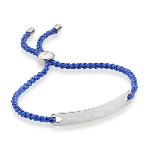 Havana Friendship Bracelet - Cornflower Blue