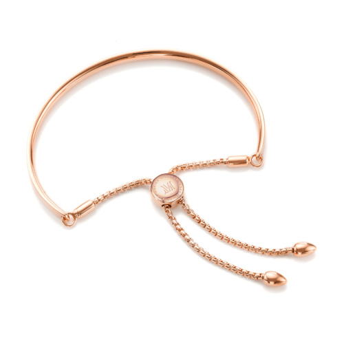 Rose Gold Vermeil Fiji Friendship Petite Chain Bracelet