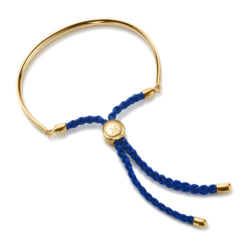 Gold Vermeil Fiji Friendship Petite Bracelet - Royal Blue