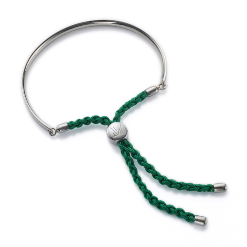 Fiji Friendship Petite Bracelet - Racing Green